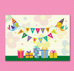Link toGift boxes birthday cards vector