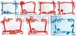 Link toGift ribbon border vector