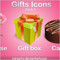 Link toGifts icons pack 2 icons pack