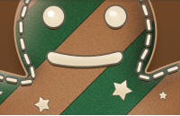 Link toGingerbread man icon psd
