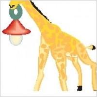 Link toGiraffe with lantern