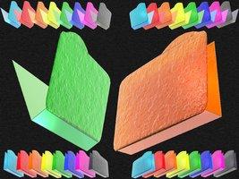 Link toGlacier bump 3d foldericonxcf6