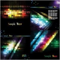 Link toGlare lattice vector background