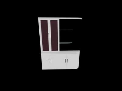 Link toGlass cocktail bar 3d model