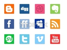 Link toGlass yarn social media icons
