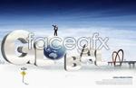 Link toGlobal business concept of psd
