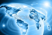 Link toGlobal business technology background high definition pictures