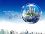 Link toGlobal center of the world psd