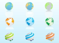 Link toGlobe graphics vector free