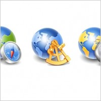 Link toGlobe icons icons pack