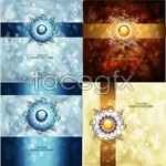 Link toGlory bright abstract background vector