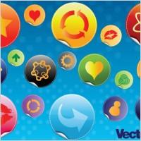 Link toGlossy design badges