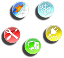 Link toGlossy icons