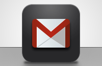 Link toGmail iphone app icon psd