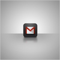 Link toGmail iphone app icon