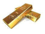 Link toGold bar quality picture material psd