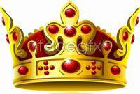 Link toGold crown vector