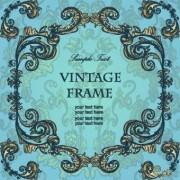 Link toGold floral ornament frame vector 05
