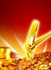 Link toGold miner special edition treasure gold coins gold psd