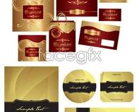 Link tovector bag hand bag background pattern Gold