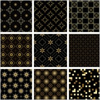 Link toGold pattern background vector