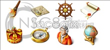Link toGold pirate computer icons