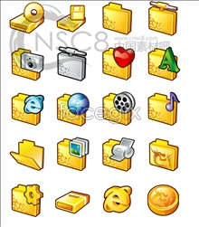 Link toGold textures system icons