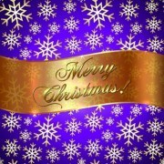 Link toGolden christmas background and golden snowflake vector 02