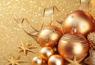 Link toGolden christmas background pictures to download