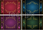 Link toGolden classic lace vector