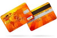 Link toGolden credit card vector