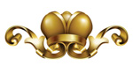 Link toGolden crown pattern vector