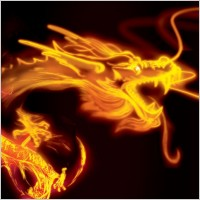 Link toGolden dragon psd layered