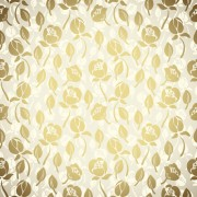 Link toGolden flower seamless pattern vector free
