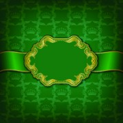 Link toGolden frame with luxury background 05 vector