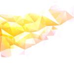 Link toGolden geometric mosaic patterns vector