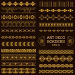 Link toGolden lace design vector