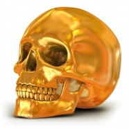 Link toGolden skull picture download