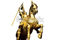 Golden statue of roman high definition pictures