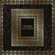 Link toGolden vintage frame vector background 01