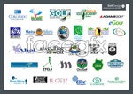 Link toGolf club logo vector