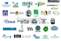 Link toGolf logo design vector