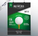Link toGolf tournament poster vector