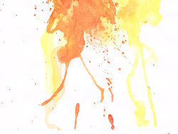 Link toGomedia produced watercolor ink picture material-037