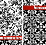 Link toGorgeous black and white pattern vector