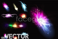 Gorgeous bright beam effects, vector iii