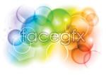 Link toGorgeous bubble background vector