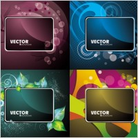 Link toGorgeous card background 03 vector