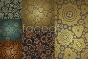 Link toGorgeous classic background pattern vector