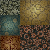 Link toGorgeous classic pattern background vector